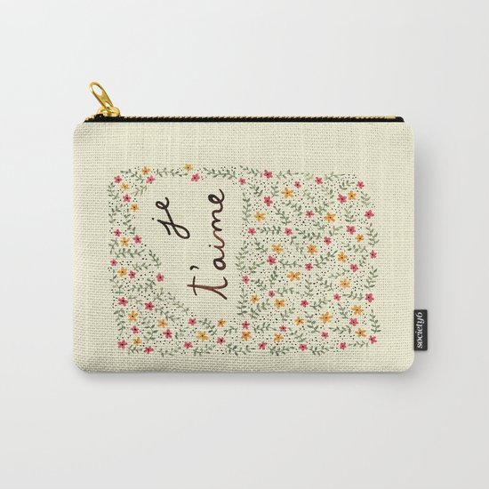 Je te aime Carry-All Pouch