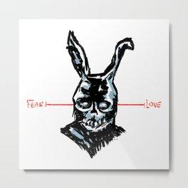 Donnie Darko: FEAR • FRANK • LOVE Metal Print