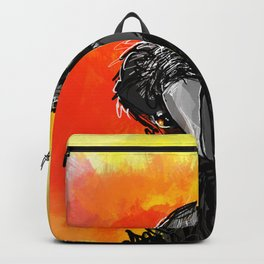 Curious Crow Backpack
