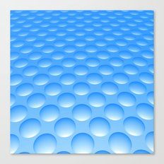 Bump Pattern, Blue Canvas Print