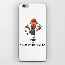 The Boy Who Ate - Ron Weasley iPhone Skin