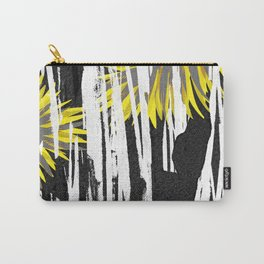 Abstract Palm Tree Leaves Design Carry-All Pouch