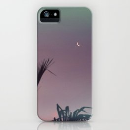 LITTLE CRESCENT MOON  iPhone Case