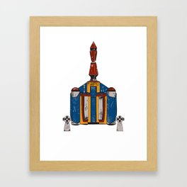 Fett Pack Framed Art Print