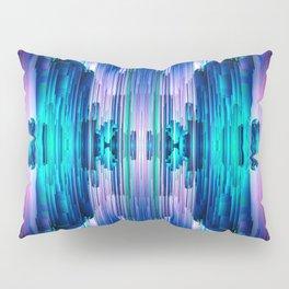 Cavernous Glitch - Abstract Pixel Art Pillow Sham