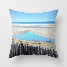 Cape Cod Beach 1 Throw Pillow