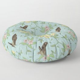 Flora Nocturna Floor Pillow