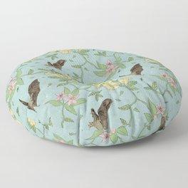 Flora Nocturna Floor Pillow