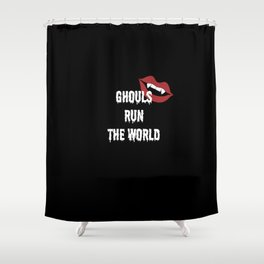 GHOULS Shower Curtain