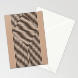 Geometric Art Stationery Cards
