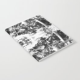 Black n White Boho Pattern Notebook