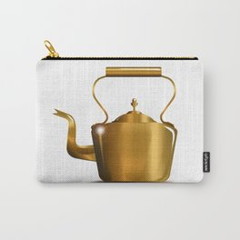 Victorian Copper Kettle Carry-All Pouch