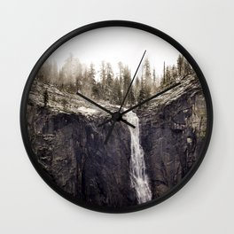 Yosemite Ridgeline Falls 5-17-19 Wall Clock