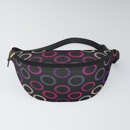 Colorful Circles VII Fanny Pack