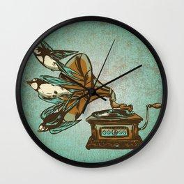 Nature Sounds Wall Clock