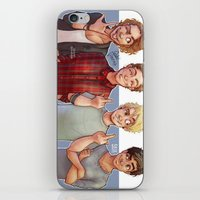 5 seconds of summer iPhone & iPod Skins featuring 5 Seconds of Summer by gabitozati