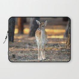 Tantalizing Cute Little Deer Bambi Forest Ultra HD Laptop Sleeve