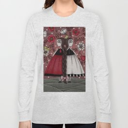 Snow-White and Rose-Red (1) Long Sleeve T-shirt