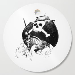 Pirate Ship Cutting Board
