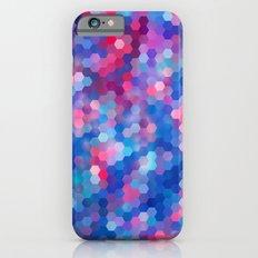 Hexagon Coloured # 1 iPhone 6s Slim Case