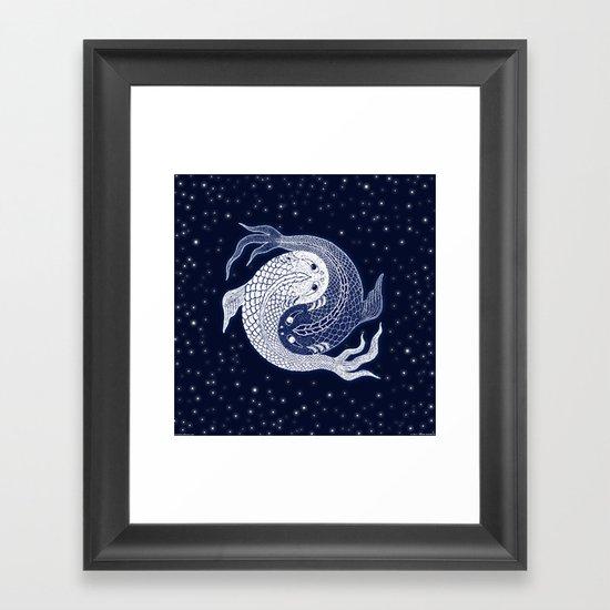 shuiwudao in space Framed Art Print