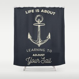Learn to Adjust your Sail Shower Curtain