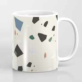 Bluestone Eden Green Black Terrazzo #1 #decor #art #society6 Coffee Mug