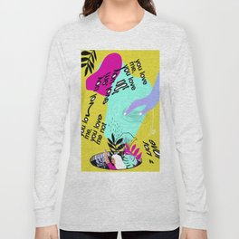Saturated thoughts Long Sleeve T-shirt