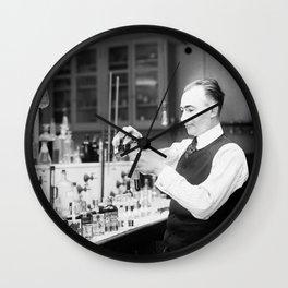 Testing Bootleg Booze - Internal Revenue Bureau - 1920 Wall Clock