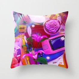 Late Nite Throw Pillow