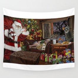 Snappy Santa Wall Tapestry