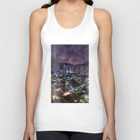 rio Tank Tops featuring Purple Rio by ThePaisley - James Chapman