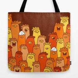Pile of Clucks Tote Bag