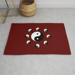 Yin and Yang 20- Tao,Zen,Taoism,Dao,Harmony,religion,buddhism,buddhist,taijitu,taiji,taoist,china Rug