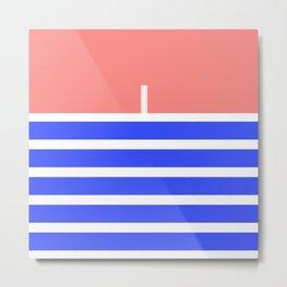 sailor design Metal Print