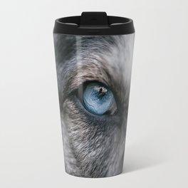 Window To The Soul Travel Mug
