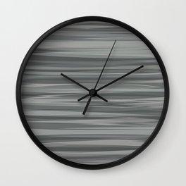Sea of Greys Wall Clock