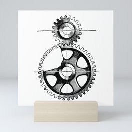 Gears. Mini Art Print