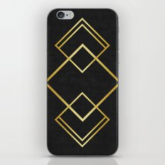 Golden forms VIII iPhone & iPod Skin
