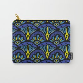 Watercolor Abstract Pattern Carry-All Pouch