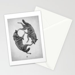 Two Wolves : Cherokee Tale Stationery Cards