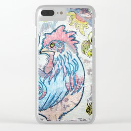Rooster Road Clear iPhone Case