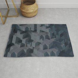Concrete Abstract Rug