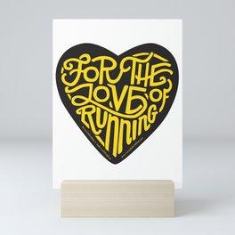 """For The Love Of Running - """"Steeltown II"""" Mini Art Print"""