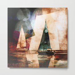 Sailors evening Metal Print
