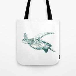 Kemp's Ridley Sea Turtle Tote Bag