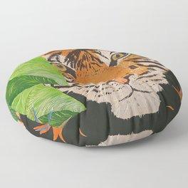 Hidden Tiger Floor Pillow
