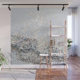 Silver Gray Glitter #2 #shiny #decor #art #society6 Wall Mural