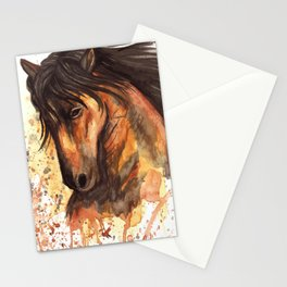 A good horse Stationery Cards