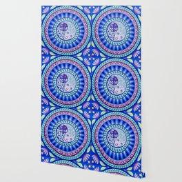 YinYang Harmony Mandala Wallpaper